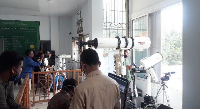 Pusat Ilmu Falak UIN Ar-Raniry Amati Hilal 1 Ramadan